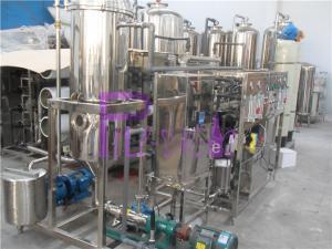 China обрабатывающее оборудование сока деаэратора вакуума 1000L/H с машиной дегазирования вакуума SUS304 on sale