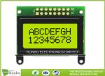 STN / FSTN COB LCD Character Display Module Display 8 * 2 White LED Backlight