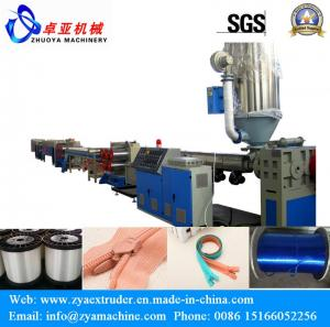China Plastic Zipper Filament Machine/Machinery on sale