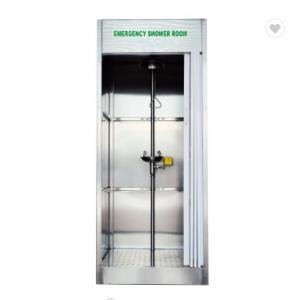 China Compound Emergency Shower And Eyewash Station , Safety Shower And Eyewash on sale