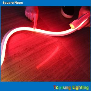 China Amazing red square 127v flexible LED neon strip 16*16mspool on sale