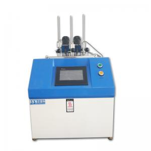 China Thermal Deformation Plastic Testing Machine , PC Vicat Softening Point Tester on sale