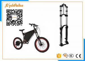 China 5000W Full Suspension Electric Assist Bike 72V , Stealth Bomber Electric Bike Bicycle For Snow / Beach on sale