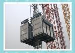Электрический промышленный подъем механизма реечной передачи для материала и персонала