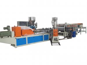 China Red / White Plastic PVC Roof Sheet Machine with SJZS-80/156 Extruder 350kg/h on sale