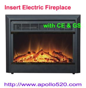 China Wood Corner Electric Fireplace on sale