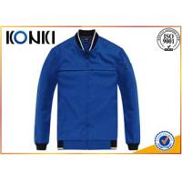 Blue Uniform Coats And Jackets , Long Sleeve  Uniform Jackets For Man