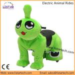 Cartoon Animal Rides Happy Rider Toys On Wheel Electric Animal Scooter Rides for Sales