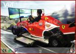 China 9D VR Driving Machine With 3 Screen Super Excited Car GamesFor Increasing Shop Atmosphere wholesale