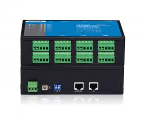 China Wall Mounting Serial Device Server 300-115200 Bps Baud Rate Hardware Adopts Fanless on sale