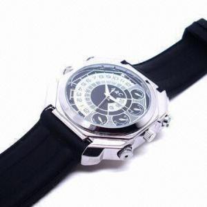 China HD Night Vision Spy Watch Camera, Waterproof, Supports 1,080-pixel Camera on sale