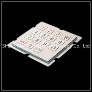 China Customized Industrial Metal Keyboard For Dyeing Machine Equipment Operation on sale