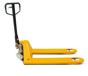 China Powered Pallet Jack 2500kg Hand Pallet Truck With Fingertip Lever Control on sale