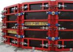Painted Concrete Slab Formwork Systems Circular Column Formwork High Turnover Frequency