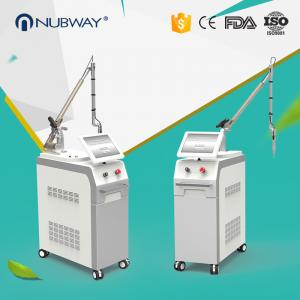 China Hot sale 1064nm/532nm Q switch nd yag laser tattoos removal machine with korea arm on sale