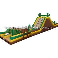Inflatable Obstacle Challenges Games For Entermainment Equipment