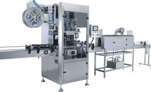 China Fast Speed Shrink Label Machine / Sleeve Labeling Machine Applied Beverage Industry on sale