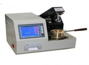 China EN ISO 2592 ASTM D92 Automatic Cleveland Open Cup Flash Point Testing Equipment on sale