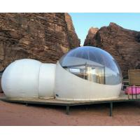 Desert 2 Tunnel Inflatable Hotel Bubble Tent  Outdoor Camping Party Tent