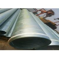 ASTM A53 Galvanized Schedule 40 Pipe / Galvanised Square Tube With Hydraulic Testing Inspection