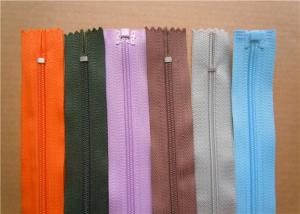 China Heavy Duty Invisible Zipper For Jackets , Two Way Separating Zipper on sale