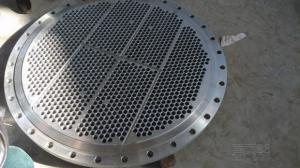 China stainless Steel UNS S31608 Heat exchanger STATIONARY FLOATING Tube Plates Tube sheets Tubesheets Baffle support plates on sale