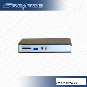 China HD 512MB NVIDIA GT218 Mini PC Computer Dual Display , Small Industrial PC on sale