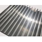 Изготовление штранг-прессования высокой эффективности алюминиевое полируя 6063-Т5 с 2 метрами