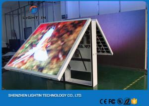 China Small P8 Mobile Front Service Led Display Board / Led Backdrop Screen on sale