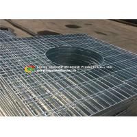 Special Shape Galvanized Floor Grating For Petroleum / Chemical Projects