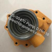 Good quality wonderful price D31P-18 Pump, 113-15-00470 Gear Pump, made in China
