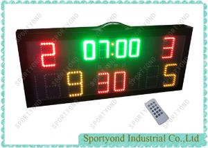 China Remote Multisport Portable Electronic Scoreboard For Basketball Or Water Polo Game on sale
