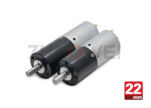 China DC 24V 22mm Diameter Planetary Gear Box Motor With Micro Gearbox on sale