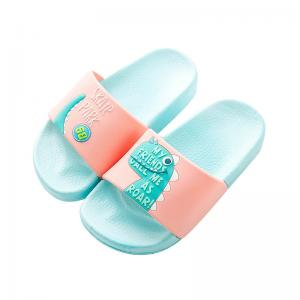 China Eco Friendly PVC Kids Summer Sandals Indoor House Slippers Long Life Span on sale