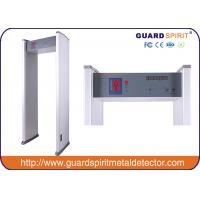 cheap price 6 zones walk through metal detector , security metal detctor with 6 LED Strips alarm