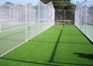 China 10mm UV Resistant Artificial Cricket Surface PE 6600 Density 300 Stitches / M on sale
