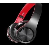 China Active Noise Cancelling Wireless Bluetooth Over-ear Stereo Headphones - Black on sale
