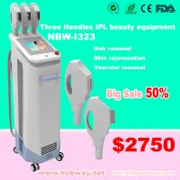 China Vertical IPL Laser Multifunction Beauty Equipment With CE Approval on sale