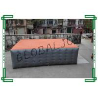 China Outdoor Huge Inflatable Stunt Bag / Jump Air Bag 10 x 6 x 2.5m on sale
