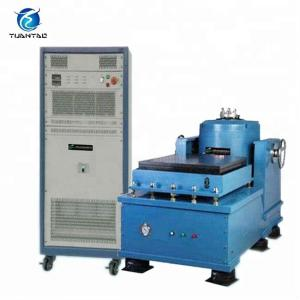 China ISO 17025 Certified Laboratory Vibration Testing Equipment / Horizontal And Vertical Vibration Testing Table on sale