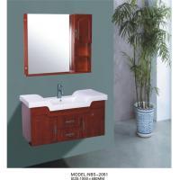 2 Doors 2 Drawer solid wood bathroom vanities cabinets Back Panel Included
