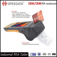 4G LTE Mobile Handheld Smart Card Reader PDA Industrial with Portable Thermal Printer