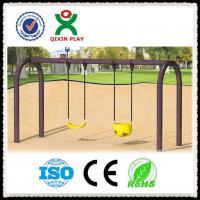 kids metal park swing set,Kids Outdoor playground plastic garden swing in playground
