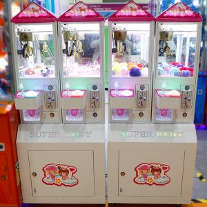 China Toy Crane Machine Coin Operated Pusher Arcade Game Toys Gift Vending Machine Catcher Machine Crane Mini Claw Machines on sale