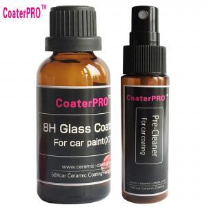 China liquid quartz coating water repellent coating for carbody ceramic 9H coating shine on sale