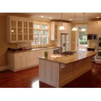 white shaker kitchen cabinet with raised panel