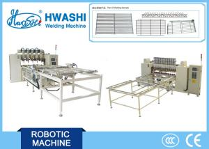 China Steel Wire Holding Rack Welder , CNC System Welded Wire Mesh Welding Machine on sale