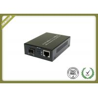 1000M SFP Fiber Media Converter Adopting External Power 1 SFP slot + 1 10/100/1000M RJ45 port