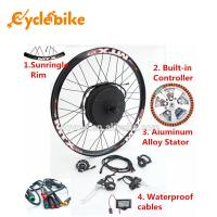 1000 W E Bike Front Hub Motor Electric Bike Kit , Motorized Bicycle Kit