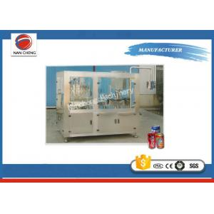 China Full Automatic Industrial Canning Equipment , Rotary Beverage / Beer Canning Machine on sale